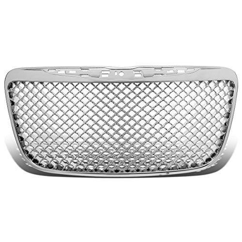 DNA MOTORING GRF-018-CH, Front Bumper Grille Guard,Chrome