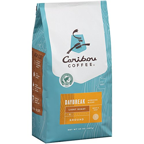 Caribou Coffee Daybreak Morning Unite Light Roast Ground Coffee, 20 oz