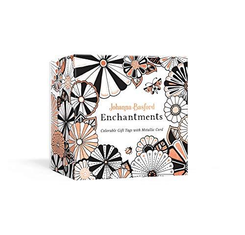 Metallic Tags - Johanna Basford Enchantments: Colorable Gift Tags with Metallic Cord