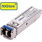 10Gtek for Ubiquiti UF-SM-1G SFP Transceiver, 1.25Gb/s SFP Module, SMF, 1310nm, 10km, Pack of 2