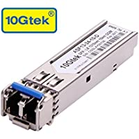 10Gtek for Ubiquiti UF-SM-1G SFP Transceiver, 1.25Gb/s SFP Module, SMF, 1310nm, 10km, Pack of 2