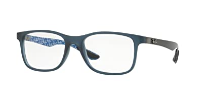 e4a865eb36 ... best price eyeglasses ray ban optical rx 8903 5262 matte blue e0271  adcb3