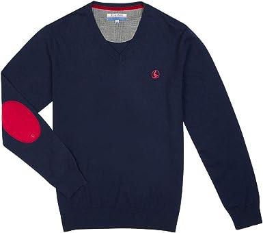 El Ganso Casual 1 Jersey, Azul (Marino 0008), Small para Hombre ...