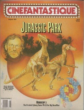 Cinefantastique Vol. 24 #2 / Jurassic Park, Robocop 3
