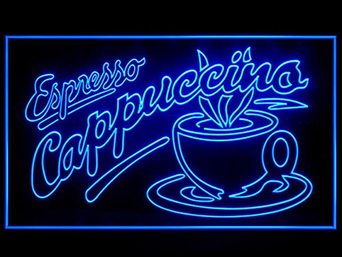 Espresso Cappuccino Open Coffee Cafe Restaurant Led Light ()