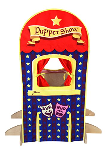 Little Partners Playhouse Kits: Popcorn Stand/Puppet Show - Learning Tower Add-On - To Be Used with The Original Learning Tower - Learning Tower Sold - Tower Popcorn