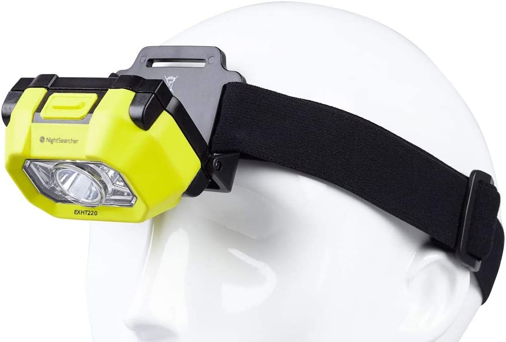 Lampe frontale NIGHTSEARCHER Atex 220 lumens