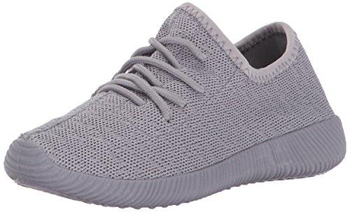 Qupid Women's Nacara-01 Sneaker, Light Grey, 6 M US