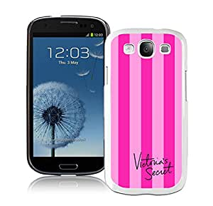 Hot Sale Samsung Galaxy S3 I9300 Case ,Unique And Lovely Designed With Victoria's Secret Love Pink 37 in White Samsung Galaxy S3 Cover