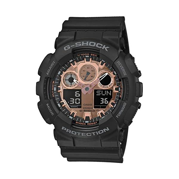 Casio Reloj Analógico-Digital para Hombre de Cuarzo con Correa en Resina GA-100MMC-1AER 2