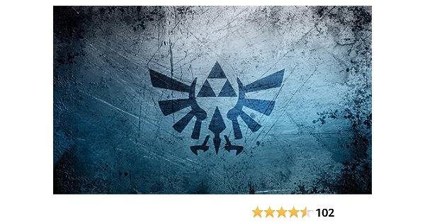 Ultra Pro-Playmat-The Legend of Zelda Black /& Gold Playmat with tube