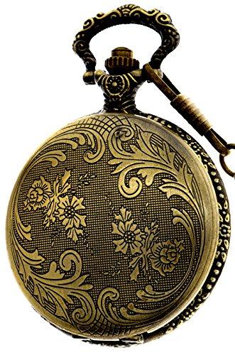 Classic Vintage Design Quartz Pocket Watch With - Quail Mall