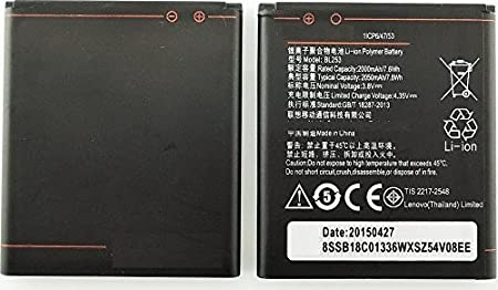 Cubetech 2000 mAh Battery for Lenovo A2010/A1000/BL253 Mobile Phone Batteries