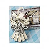 Fashioncraft Shimmering Angel Ornament (Set of 3)