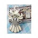 Fashioncraft Shimmering Angel Ornament (Set of 3)
