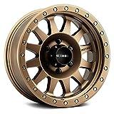 Method Race Wheels 304 DOUBLE STANDARD Custom Wheel - 18x9, 25 Offset, 5x150 Bolt Pattern, 116.5mm Hub - Bronze Rim