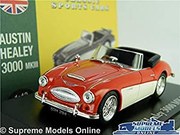 Supreme Models Austin Healey 3000 Mkiii Model Car 1 43 Scale Red Classic Atlas Norev Sports K8 Amazon Co Uk Toys Games