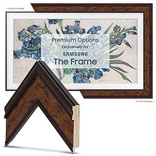 "Deco TV Frames - Burlwood Frame Custom Built for Samsung The Frame TV (43"")"