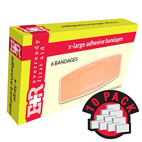(Ever Ready First Aid Adhesive Bandages, Sheer Plastic, 2