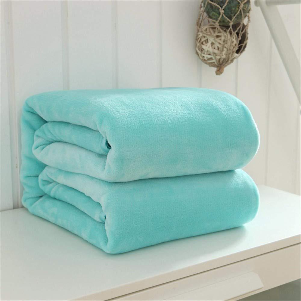 Bixiangji フランネル毛布無地毛布暖かい毛布秋冬毛布昼寝毛布シート毛布ギフト毛布サンゴフリース (Color : 100x120cm, サイズ : C) B07Q8QD7GV 100x120cm C