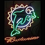 Desung New 20''x20'' B udweiser Sports Team MD Neon Sign Man Cave Signs Sports Bar Pub Beer Neon Lights Lamp Glass Neon Light CX92