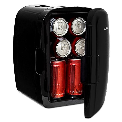 Magnasonic Portable 8 Can Mini Fridge Cooler & Warmer, 5L Ca