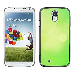 MOBMART Carcasa Funda Case Cover Armor Shell PARA Samsung Galaxy S4 - Plain Chartreuse Color Design