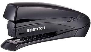 Bostitch/PaperPro Inspire 20 Sheet Stapler - One Finger, No Effort, Spring Powered Stapler - Black (1423)
