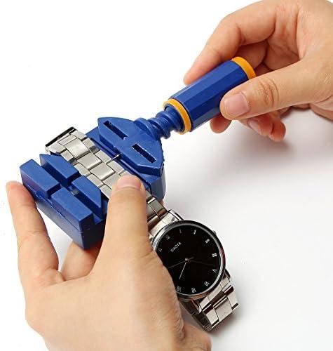 Promociones】BABAN Conjunto de 22 Piezas Herramientas de Reparación de Reloj con Bolsa Nylon: Amazon.es: Bricolaje y herramientas