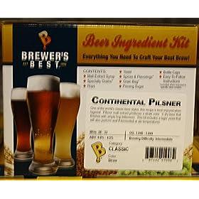 Brewer's Best Continental Pilsner Homebrew B...