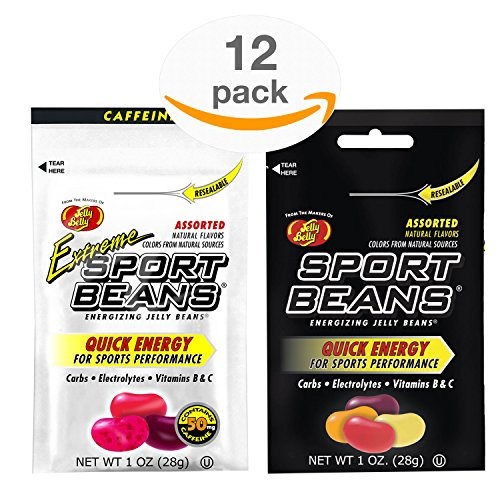 Jelly Belly Sport Beans - Assorted and Extreme Assorted With