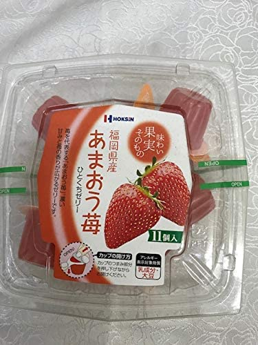 あまおう ひとくちゼリー 11個入 ×6 東洋フルーツ(有)
