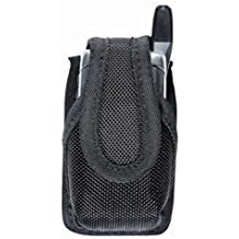TUFF Products Size 45 Phone Case, Black Nylon, Fits iPhone 6Plus Galaxy Note Smart 7205-NYV-45