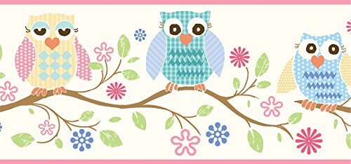 Chesapeake BBC94011B Owlets Wallpaper Border product image