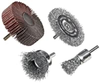 Weiler. Brush 4-Piece Drill Accessory Kit