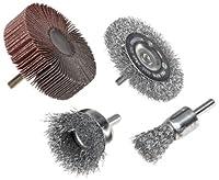 Weiler. Brush 4-Piece Drill Accessory Kit