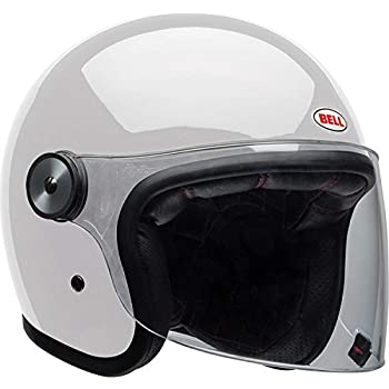 Bell Riot Flip-Up Motorcycle Helmet (Solid Gloss White, X-Large)