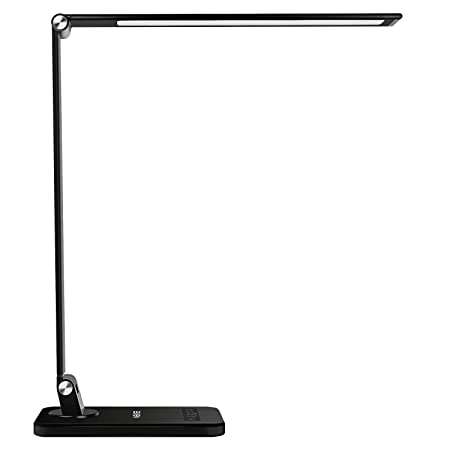 MEIKEE LED Desk Lamp, Aluminum Dimmable Table Lamp