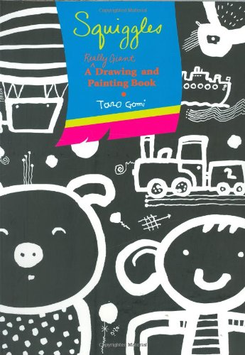 Squiggles pb: A Really Giant Drawing and Painting Book ()