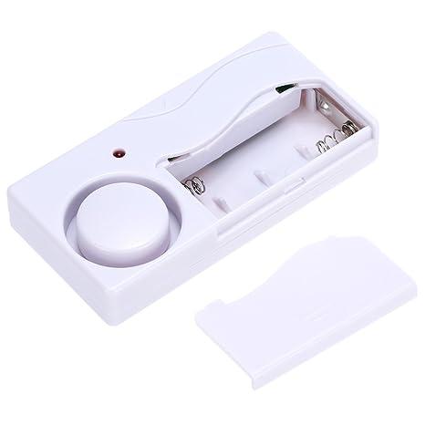 Mengshen Alarma de Puertas y Ventanas - Alarma Antirrobo Inalámbrica con Control Remoto, Fácil De Instalar, 105db (Incluye 1 Alarma y 1 Control ...