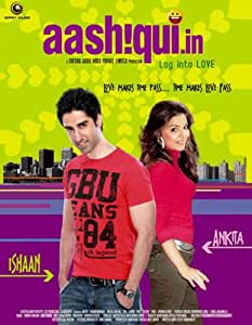 Aashiqui.in (New Romance Film / Bollywood Movie / Indian Cinema DVD)