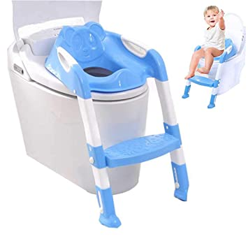 Kind Toilettensitz Toilettentrainer Töpfchentrainer Töpfchen Trainer WC Sitz NEU