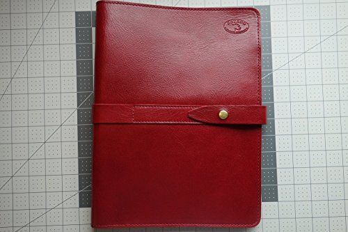 (Red Wine)Leather Portfolio-Groomsmen gift-Notebook-Tablet Cover.estero-trading-co Positive Feedback by Estero Trading Company