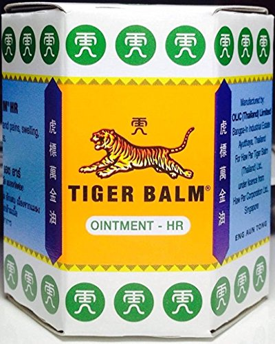 Tiger Balm White Ointment, HR Pain Relief (Venetian Pure Lipstick)
