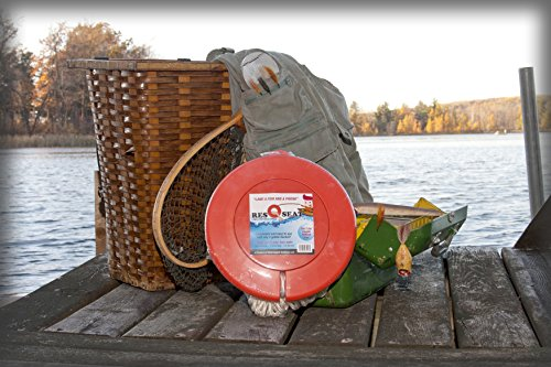 ResQseat Life Ring by Waterlogged Outdoors | Life Preserver Ring, Bucket Toilet Seat, Bucket Seat, Bucket Lid, Fishing Equipment + Tested and Proven + Fits as a 5gal Bucket Lid by Waterlogged Outdoors LLC (Image #4)