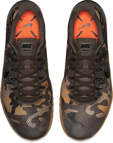 Med Homme Ridgerock Brown gum Metcon Nike 4 Chaussures de Cross Black 4zX1qf7
