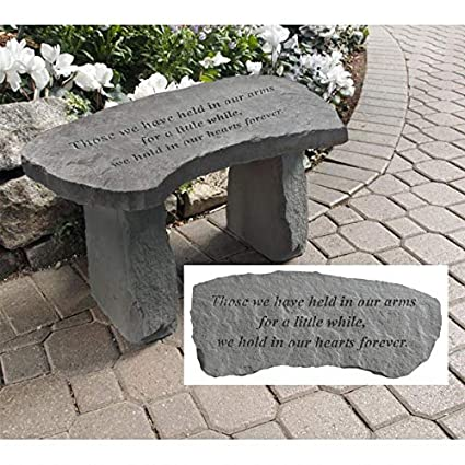 Incredible Design Toscano In Our Hearts Forever Cast Stone Memorial Garden Bench Ibusinesslaw Wood Chair Design Ideas Ibusinesslaworg