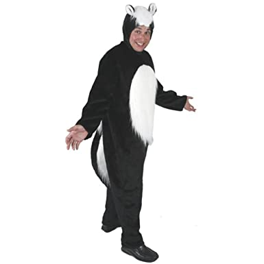 Adultu0027s Skunk Halloween Costume (Size Standard ...  sc 1 st  Amazon.com : skunk halloween costumes  - Germanpascual.Com