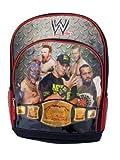 "WWE John Cena ""Championship Belt"" Black and Red -16"" Backpack"