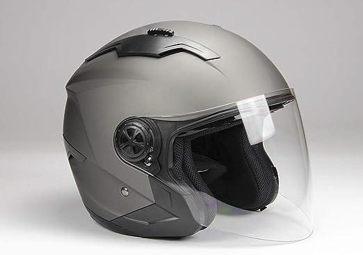 Bno Jethelm Mit Langvisier Jet300 Motorradhelm Roller Helm Schutzhelm Matt Schwarz S Xxl L Auto